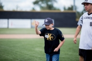 Tyler and Sean first pitch